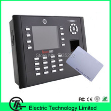RFID card reader fingerprint time attendance and access control with camera iclock680 USB,TCP/IP,RS232/485 fingerprint machine