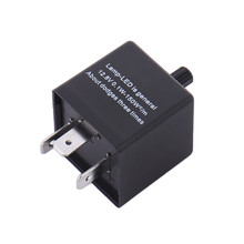 3-Pin CF14 Adjustable Frequency LED Flasher Relay Automotive Motorcycle Turn Signal Flash Fix Car Accessories(China)