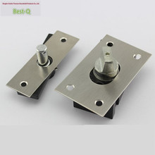 Free shipping Aggravated door to rotate 360 degrees to the hinge shaft of small non-automatic doors Floor Spring hinge
