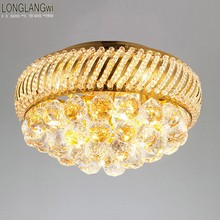 luxury crystal Ceiling lamp Bed room Ceiling Lights top Crystal Ball k9 crystal Modern Ceiling lights 35 CM (13.8 Inch) Diameter