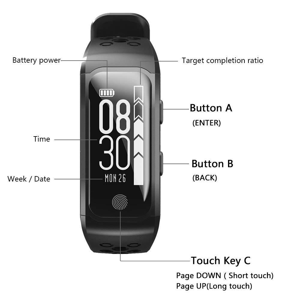Smartwatch GPS IP68 Waterproof Wristband (18)