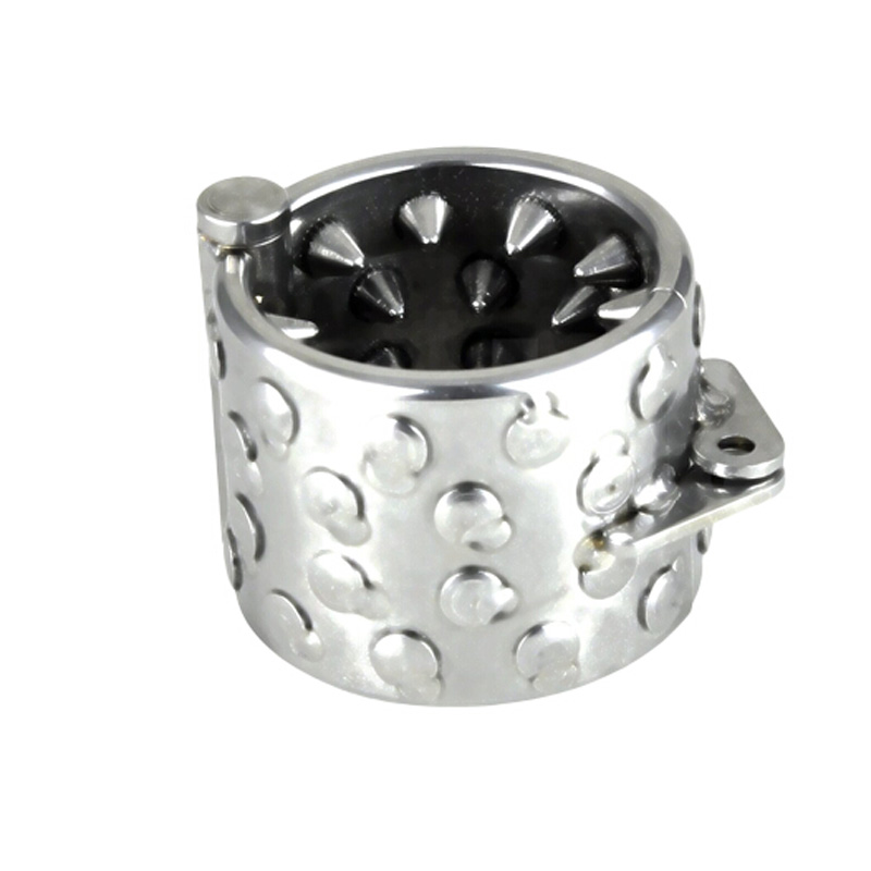 Stainless steel thorn penis ring cockring testicle pendant ball stretcher scrotum bondage cock rings men chastity sex toys<br>
