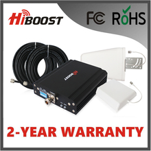 Hiboost FCC 3G Coverage Signal Booster/Repeater/Amplifer 850 1900 MHZ Works with AT&T, Sprint, T-Mobile, Verizon F15G-CP