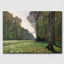 Le pave de chailly Monet oil painting reproduction high quality canvas arts for clients gift home decoration(China)