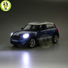 5 inch RMZ City MINI COOPER S Countryman Diecast Model Car Toy Boy Girl Gift Pull Back Sound Lighting