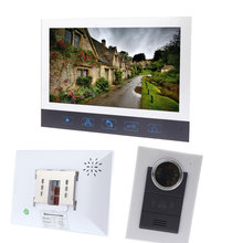 "7"" TFT LCD Color Video Door Phone Doorbell Intercom System for Home Villa Touch Key Night Vision Camera Take Photo Door bell"