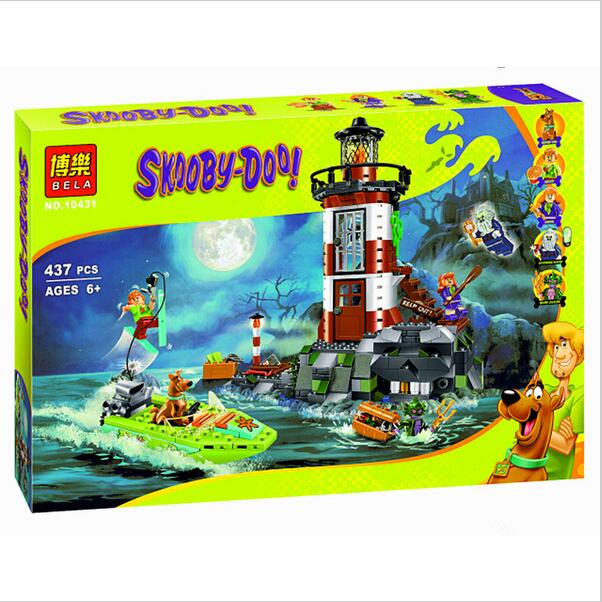 2017 NEW Bela 10431 Haunted Lighthouse Scooby Doo Model Bricks Blocks 3D Kids Toy GiftsChristmas gift toys  Lpin<br><br>Aliexpress
