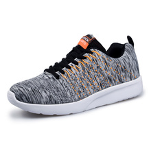Mangobox Running Trainers Mens Spring/Summer Barefoot Running Shoes Gray/Black Men Shoes Sport Comfortable Walking Shoes Men