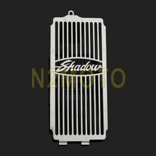 NEW Mesh Radiator Grill Cover Guard Protector for Honda Shadow ACE VT400 / VT750 1997-2003 Spirit 750 2001-2008(China)