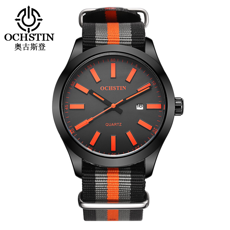Fashion OCHSTIN Brand Casual Calendar Sport Man Male Clock Business Military Army Luxury Automatic Wrist Quartz Watch GQ048C<br><br>Aliexpress