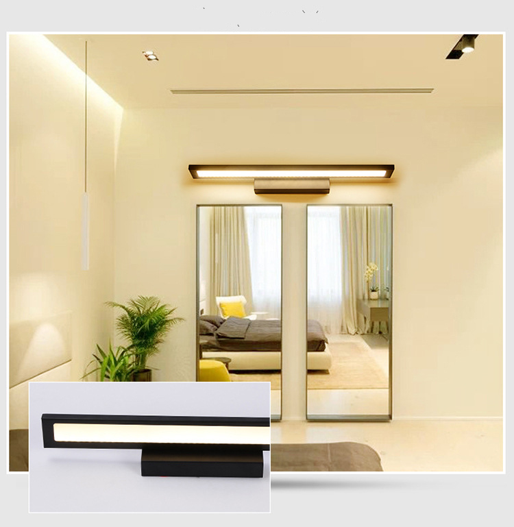 Modern Cosmetic 85-265V 5/8/11W wall lights for home &fashion Led Wall bed Light &Mirror Waterproof Lamp for Bathroom
