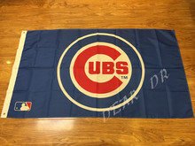3x5ft MLB Chicago Cubs Pennant event decoration, Major League Baseball American Flag Free Shipping