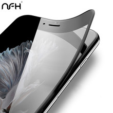 Buy NFH 3D Curved Carbon Fiber Soft Edge Tempered Glass iPhone 8 6 6S Plus Phone Screen Protector Film iPhone 6 6s X 7 10 for $1.49 in AliExpress store