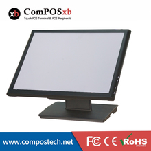 Free Shipping Desktop Computer Monitor Size 19 Inch Screen Monitor Touch panel 5 Wire Touch Monitor Display For Pos(China)