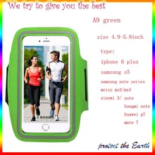 Fashion  Training Sports Case for iphone 6 plus  waterproof bandage bandage run workout phone arm package