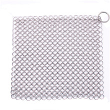 20*20cm Ringer Cast Iron Cleaner Stainless Steel Chainmail Soldering Solder Iron Tip Kitchen Cleaner Cleaning tool Helper