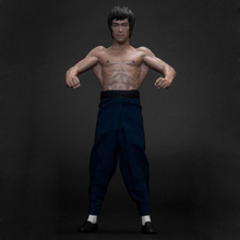 Bruce Lee Real Clothing Ver. Action Figure Latissimus Dorsi Ver. Bruce Lee Doll PVC figure Toy Brinquedos Anime 15CM