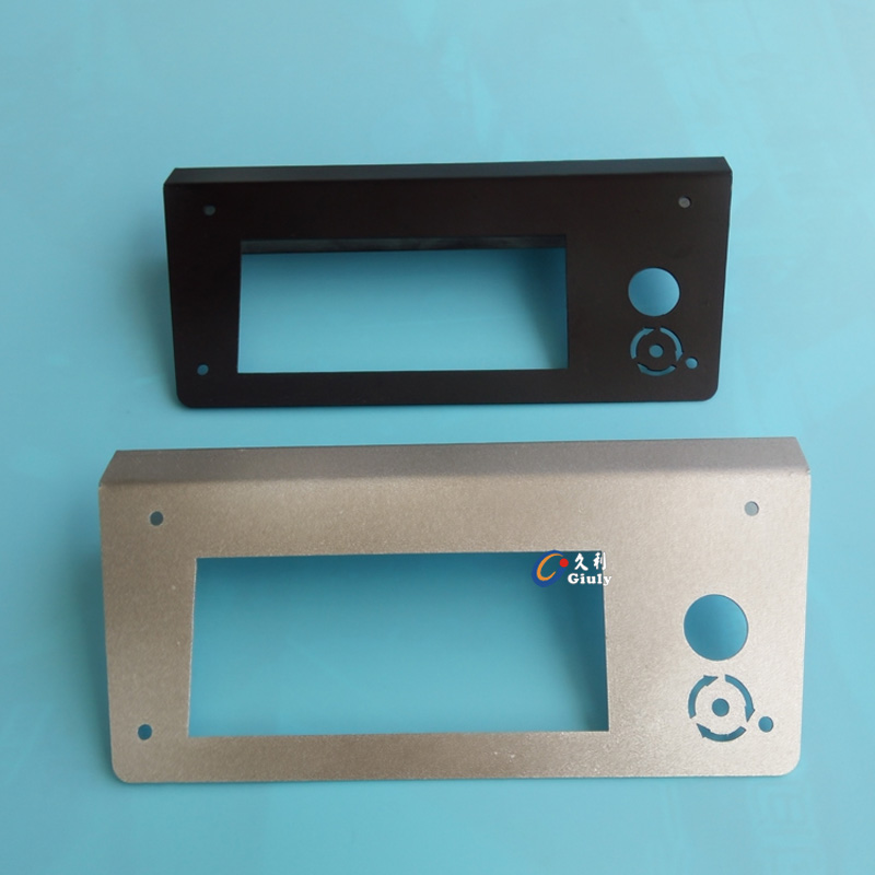 3D printer accessories stainless steel LCD enclosure Reprap Ramps1.4 2004LCD bracket protector<br><br>Aliexpress