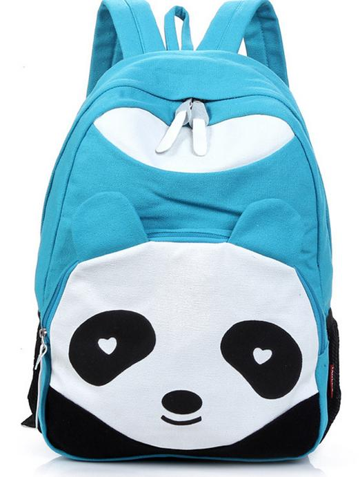 Купить fashion canvas backpack cute soft animal panda в интернет-магазине - Cpu24.ru