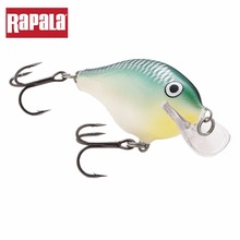 Rapala Brand SCRC05 Scatter Rap Crank Hard Fishing Lure 50mm 9g Depth 1.8-2.4m Freshwater Artificial Bait For Casting & Trolling