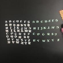 26 шт./компл. металла Сталь буквы алфавита-Z Штанцевые формы Трафареты DIY Скрапбукинг фотоальбом Бумага карты Декоративные Craft(China)