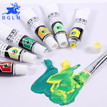 Maries Professional Acrylic Paints Set 12/18/24 Colors 12ml Hand Painted Wall Drawing Painting Pigment Set Art Supplies