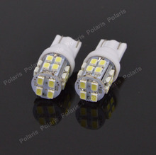 10pcs T10 W5W 20 SMD LED 3020 Auto Led Wedge Lights License Plate Bulbs Turn Signal Marker Lamps 1206 Dome DC12v 194 168