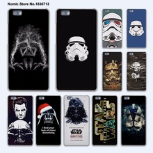 Star Wars darth maul logo design hard transparent Cover Case for huawei P10 Plus P8 P9 Lite Mate 9 S 8 7 phone case