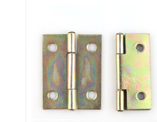 Hardware supplies  Hinges Furniture Accessories Jewelry Boxes  Hinge Furniture Fittings  galvanized hinge 38mm*30mm*0.8mm