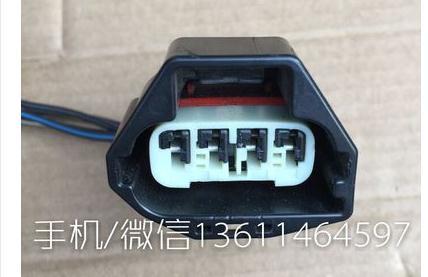 FOR M6 intake pressure sensor 4PIN plug connector<br>