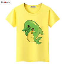 BGtomato Dolphin t-shirt cute top tees cartoon shirt 3d printed t-shirts cheap sale lovely top brand t shirt women clothes