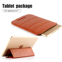 Retro Vintage Classic Brown Black Filp style PU leather case sleeve Stand Pouch Bag Cover for apple ipad pro 9.7'' Tablet