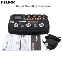 NUX MG-200 Professional EU Plug Guitar Modeling Processor Multi-effects with 55 Effect Models Guitar parts&Accessories(China)
