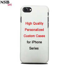 Personal Custom-made Sublimation Cases For iPhone Series DIY Heat Transfer Mobile Phone Covers Shells NSB uni Brand(China)