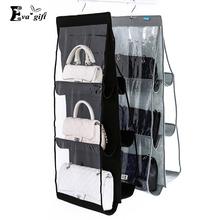 Dust-proof Wall Bags storage organizer multi - layer bag hanging bag Display holder wall box Save your bag(China)