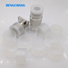 N type connector Dust Cap Protection Cover L16 N type connector cap for N Type Female Connector Transparent plastic 50pcs/lot
