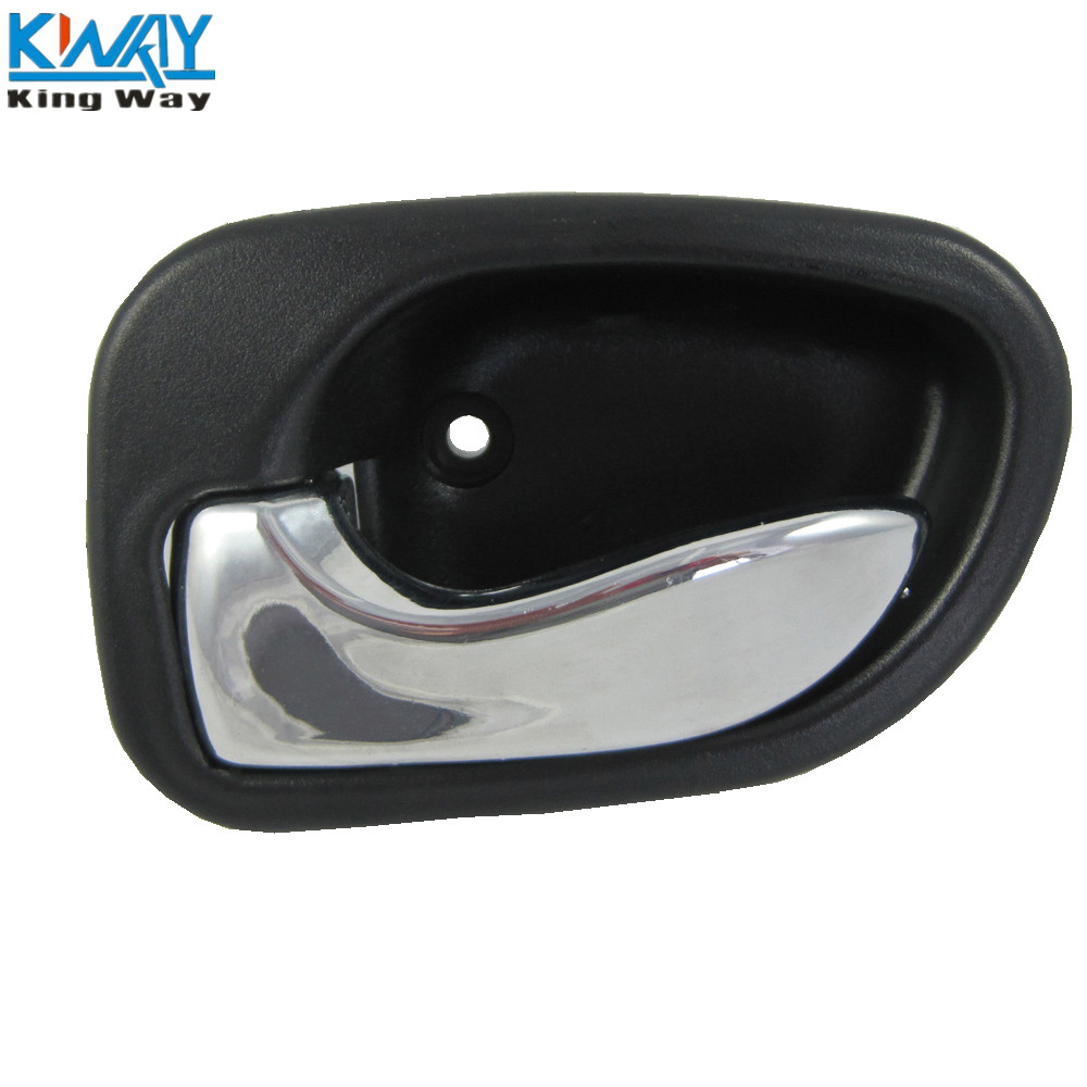 Black Front Rear Left Right Inside Door Handle For Hyundai Accent 1995-1999