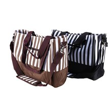 2 Color Large Capacity Mummy Hangbag Baby Diaper Bag Waterproof Oxford Changing Nappy Storage Bag
