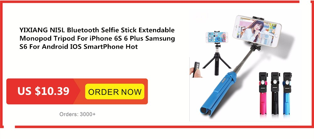 YIXIANG Universal Wired Candy Selfie Stick For Android iPhone 6 5 Samsung Xiaomi Phone Monopod Palo Selfie Sticks Tripod Holder