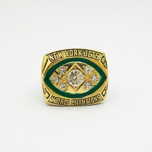 YKIN 1968 New York Jets Super Bowl 3 Championship Ring Jewelry Namath For Mens Gift Gold Ring Replica High Quality Drop Shipping(China)