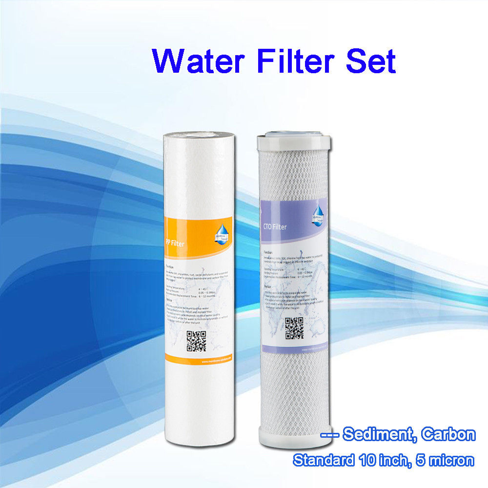 """Sedimento PP Filtro De Agua Ósmosis Inversa RO * Limpieza De Cristales * 10 X 20/"""" 5 Micron"""