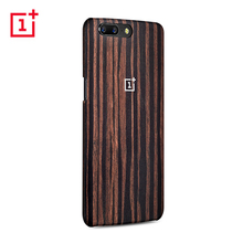 Original Genuine OnePlus 5 Protective Case Ebony Wood + OnePlus Five Black Tempered Glass OnePlus5 Cover From Official Website(China)