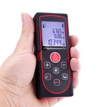 Buy Mini Handheld Digital Laser Distance Meter 60m/197ft High Precision Range Finder Area Volume Measurement Level Bubble for $22.56 in AliExpress store