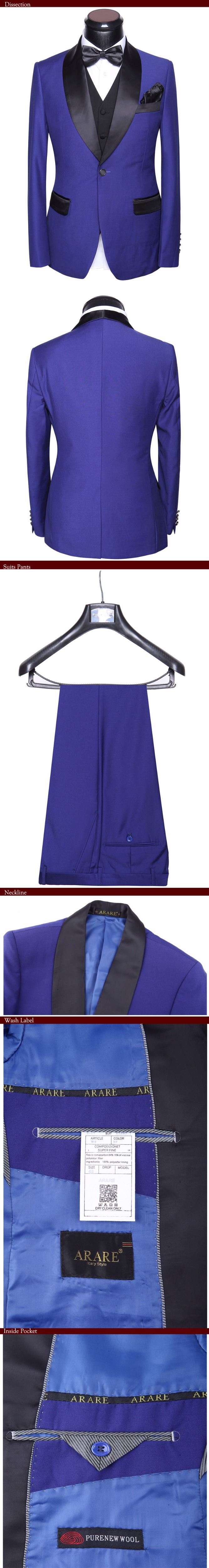 HTB1khVDaQfb uJkSnhJq6zdDVXaJ - Men Wedding Dress Suits 2017 Latest 5 piece Groom Wedding Suit Set Slim Fit Round Collar Prom Party Black-tie Dress
