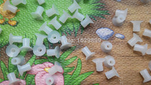 100 pieces rubber sucker for Ryobi, 21mm*20mm*6mm rubber printing parts(China)