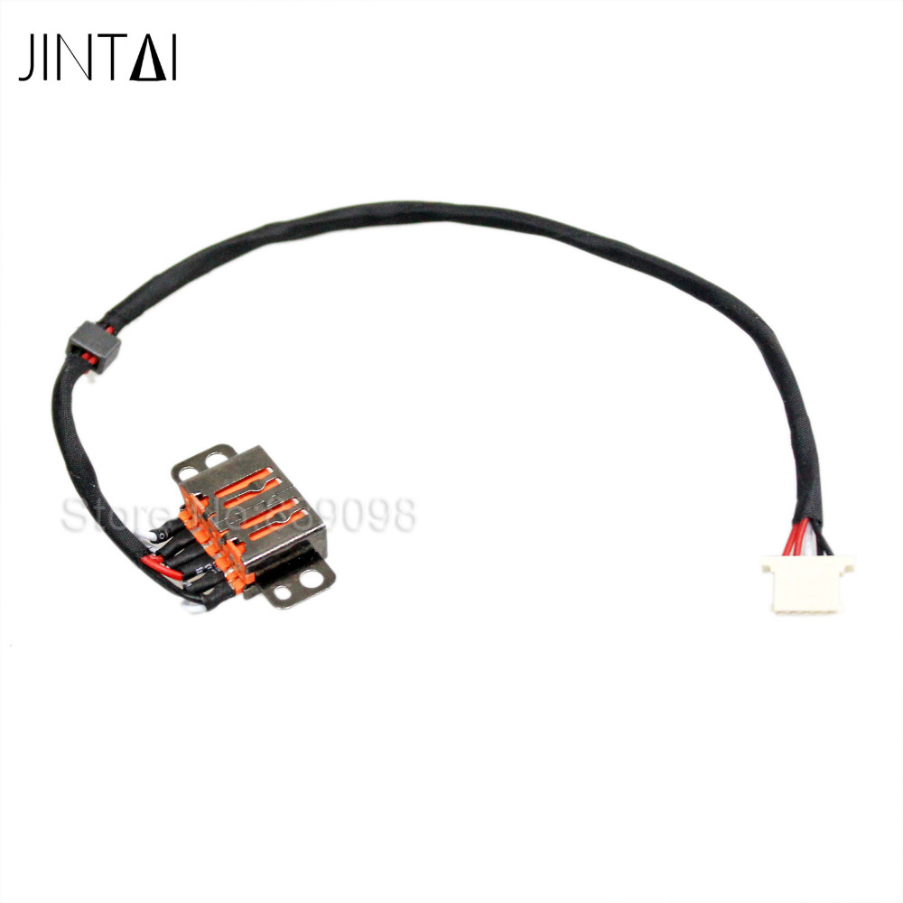100% new JINTAI LAPTOP DC IN Power Jack Cable HARNESS Connector For Lenovo IdeaPad 700S-14ISK 80RM DC30100XK00<br>