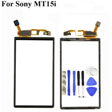 Touch Screen Digitizer For Sony Ericsson Xperia Neo V MT15i MT11i MT15 Front Glass Panel Sensor Touchpad Replacement(China)