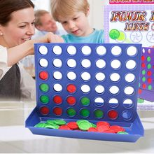 2017 New Interesting Kids Board Game Connect Four In a Line Board Game Kids Children Educational Intelligent Develop Toys