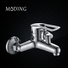MODING Bathroom Bath Faucet Shower Faucet Bathtub Shower Material Polish Chrome Finish Thermostatic Shower Mixer #MD30701-B