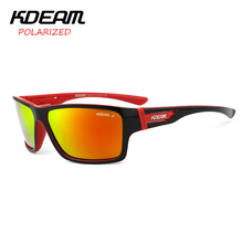 KDEAM 2017 New arrival Polarized Sunglasses men Sun Glasses Sport Women Brand Designer Oculos De Sol With Original Box KD510(China)